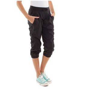 Ivivva Live to Dance Cropped Studio Pants, Size 12